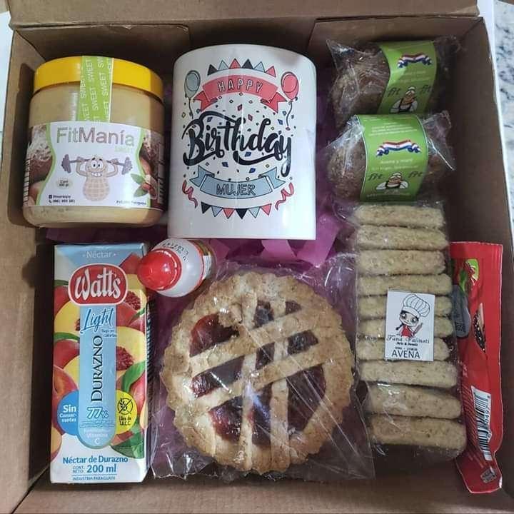 Cajas para regalo con bocaditos dulces - 1