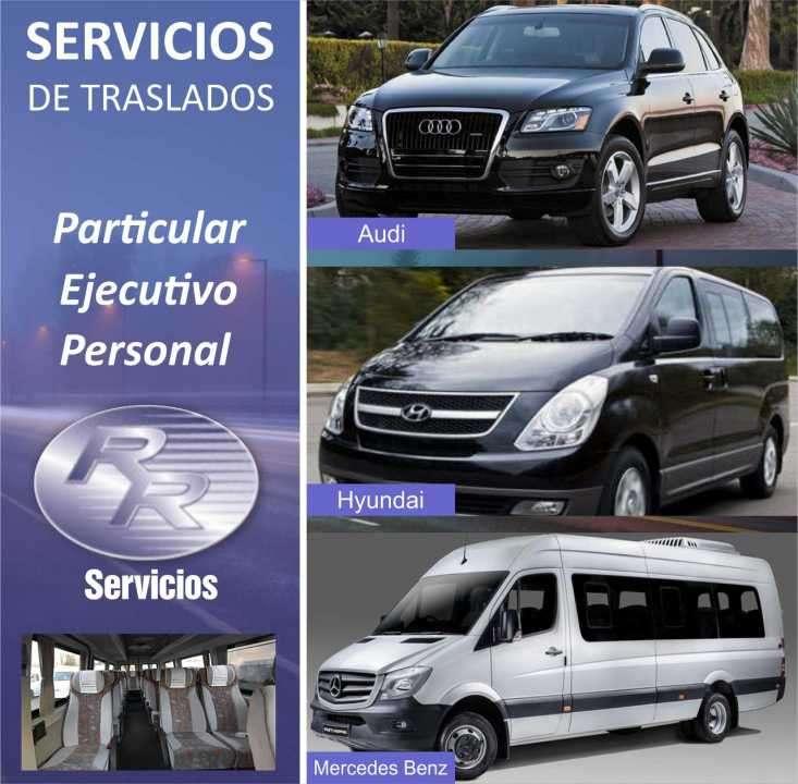 Servicios, viajes y traslados a cualquier punto del pais - 0