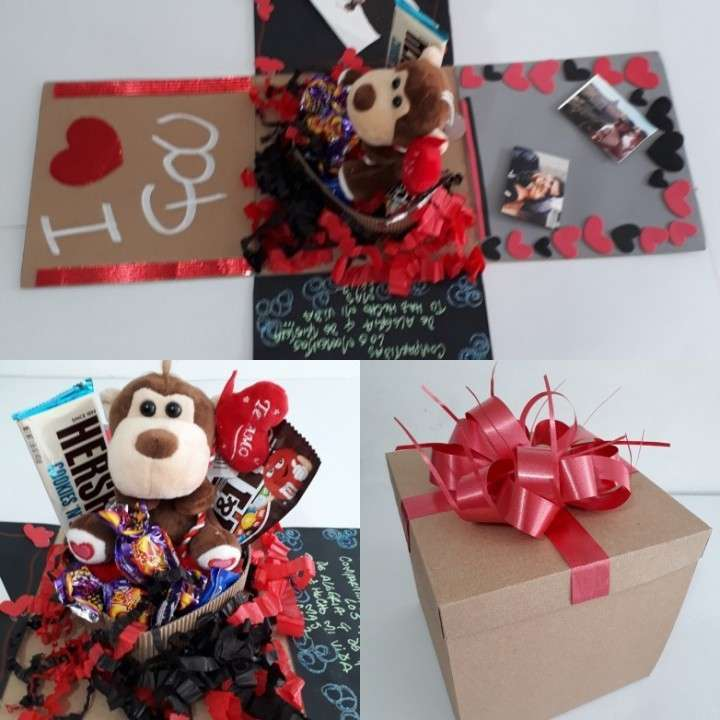Cajas para regalo con bocaditos dulces - 3
