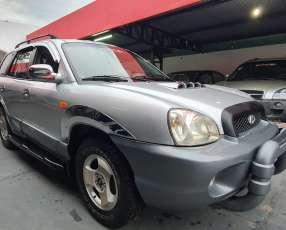 Hyundai santa fe 2003 2.0 diesel turbo caja automatica techito