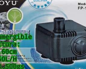 Motorcito sumergible para cascada fuentes hidroponia