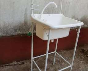 Lavamanos portátil práctico y económico