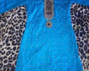 Vestido- Tunica azul