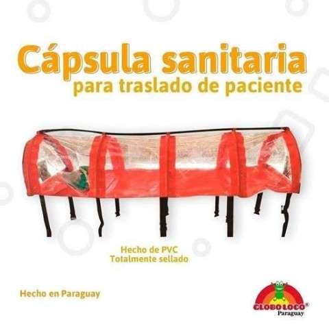 Cápsula para transportar pacientes