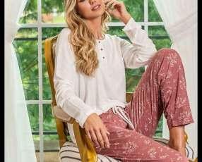 Pijama de kalua y rondina