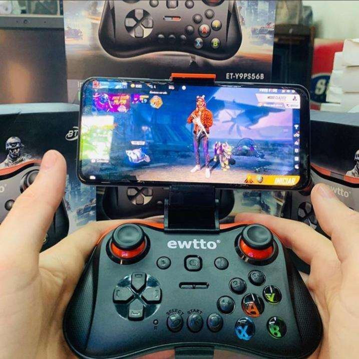 GAME PAD a Bluetooth. Compatible con IOS , Android , PC - 0