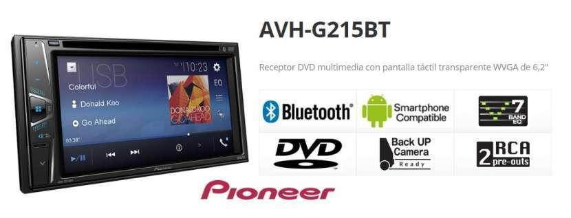 Autoradio Pioneer AVH-G215BT bluetooth usb - 3