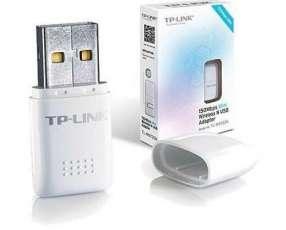 Mini adaptador usb wifi tp-link 150mbps