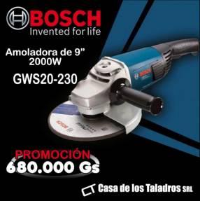 Amoladora Bosch GWS20-230 9