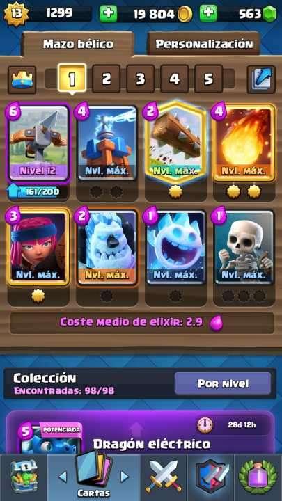 Cuenta Clash royal - 0