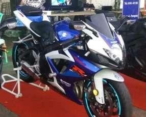 Moto Suzuki Gsx-r 750cc Azul 2007
