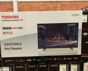 Tv LED Smart Toshiba full UHD 4k de 43 pulgadas