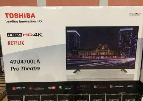 TV LED Smart Toshiba UHD 4K de 49 pulgadas - 0