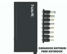 Cargador universal para notebook