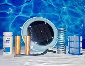 Lonizador solar para piscinas