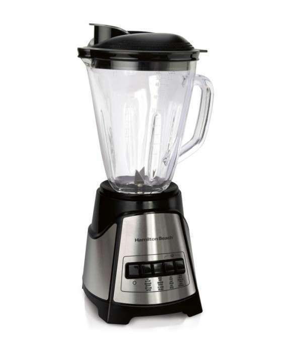 Licuadora Power Elite Hamilton jarra de vidrio 58148-CL - 1