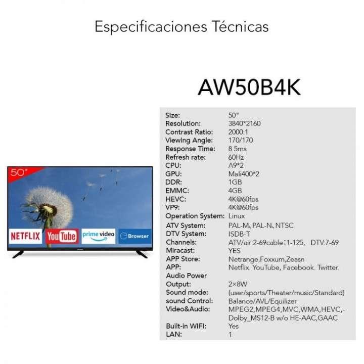 TV LED 50 pulgadas AIWA - 1