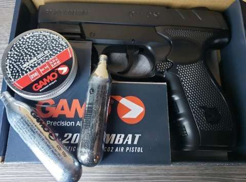 Pistola de aire comprimido co2 Gamo - 1