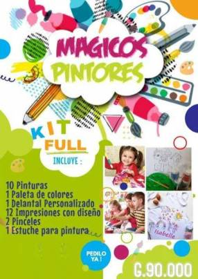 Kit estándar de arte para niños