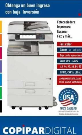 Fotocopiadoras impresoras escaner fax full color láser A3