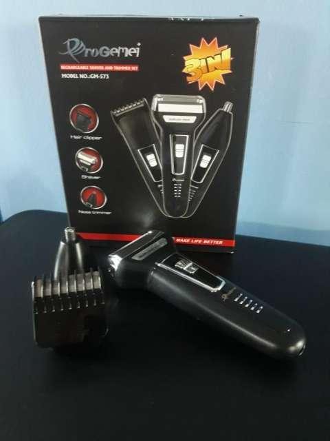 Afeitadora y corta pelo Gemei Pro 3 en 1 - 0