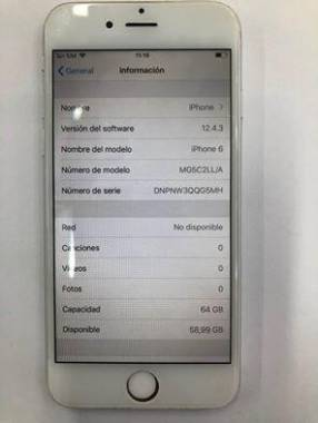 Iphone 6 de 64gb