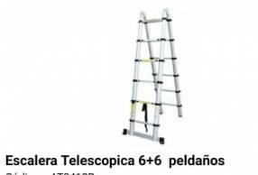 Escalera telescopica 6+6 Peldaños