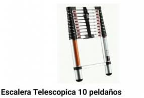 Escalera telescopica 10 Peldaños
