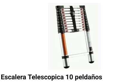 Escalera telescopica 10 Peldaños - 0