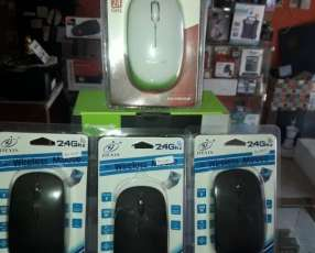 Mouse Inalambrico JIEXIN hasta 10mts 2.4Ghz