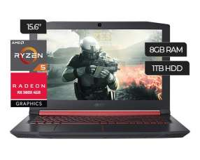Notebook Acer Nitro Ryzen 5.