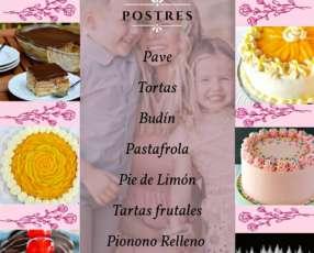 Tortas y canastas
