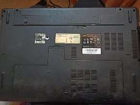 Notebook Acer Aspire 7741Z (Con fisura de pantalla) - 1