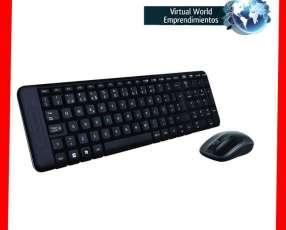 Teclado y mouse mk220 inalámbrico Logitech