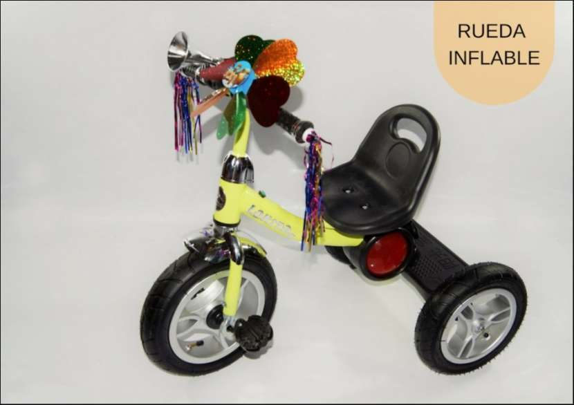 Triciclo con rueda inflable TRI-C2-V - 0