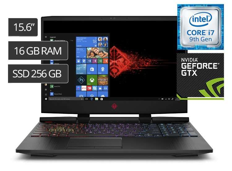 Notebook HP Omen 256 gb ssd - 0