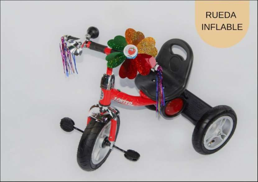 Triciclo con rueda inflable TRI-C2-V - 1