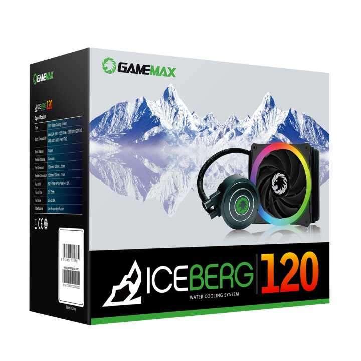 Water Cooling RGB 120mm refrigeración líquida cpu - 0