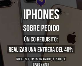 iPhone sobre pedido