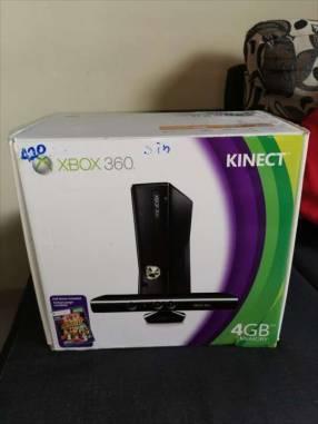 Xbox 360 con kinect desbloqueado