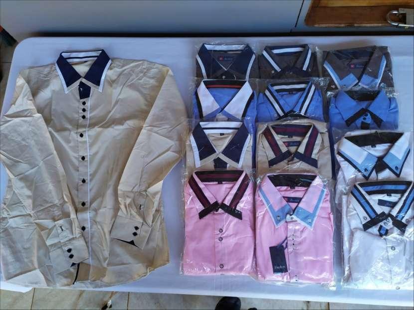 Camisas mangas largas slim fit - 0