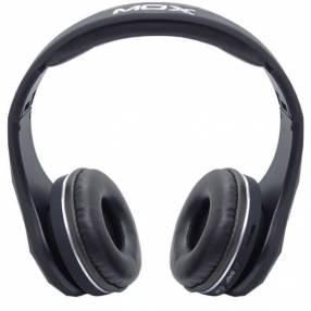 Auricular Mox MO-BH551 bluetooth aux negro