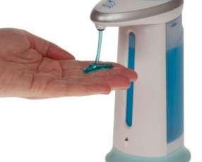 Dispenser de alcohol y jabón líquido con sensor