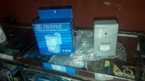 Sensor de presencia Prosper hasta 5 metros con alarma