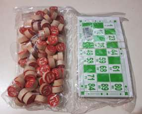 Juego de mesa.loteria bingo.