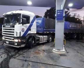 Scania 124 equipo completo