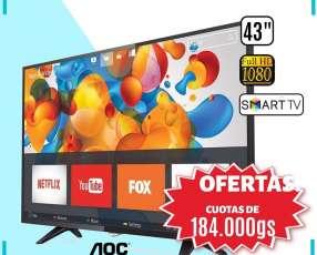 Smart TV AOC de 43 pulgadas