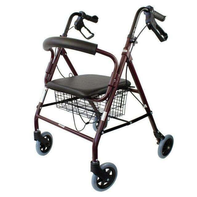 Andador rollator con sentadera - 2