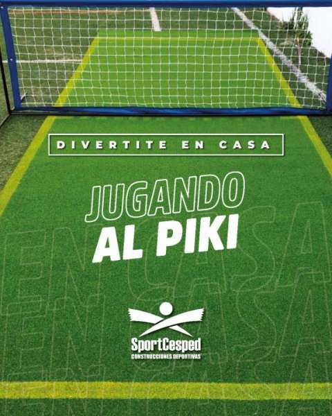 Canchita de Piki 6x4 con red