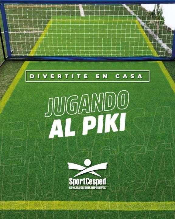 Canchita de Piki 6x4 con red - 0